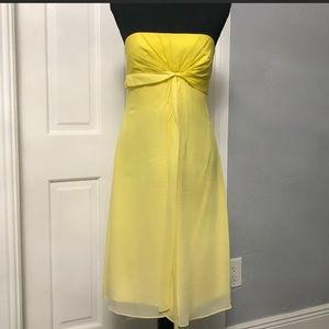 BcbG | ombre yellow strapless dress • 6